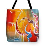 Ribbon Candy Tote Bag