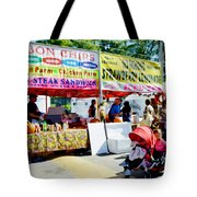 Ribbon Chips Tote Bag