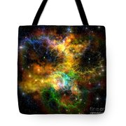 Ribbon Nebula Tote Bag