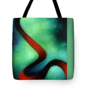 Ribbon Of Time Tote Bag