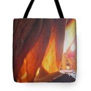 Ribbons - Cave Tote Bag
