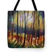 Ribbons Of Moonlight Tote Bag