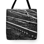 Ribbons Of Steel Tote Bag