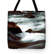 Ribbons Of Water Tote Bag