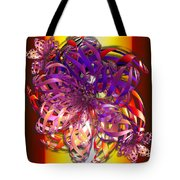 Ribbons Tote Bag