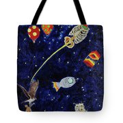Ribcage To The Stars Tote Bag