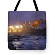 Ribeira Grande At Night Tote Bag