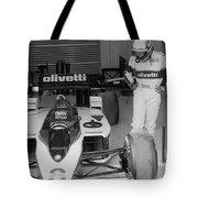 Riccardo Patrese. 1986 Spanish Grand Prix Tote Bag