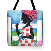Rice Cream Girl Tote Bag