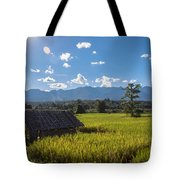 Rice Fields Of Thailand Tote Bag