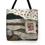 Rice Paddies Collage Tote Bag
