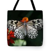 Rice Paper Butterfly Tote Bag