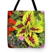 Rich Pattern Tote Bag