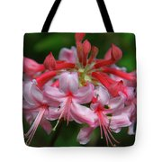 Rich Pink Blossoms Tote Bag