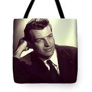 Richard Egan, Vintage Actor Tote Bag