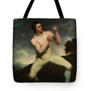 Richard Humphreys, The Boxer                                     Tote Bag