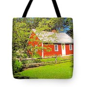 Richard Hunnewell House, Scarborough Maine Tote Bag