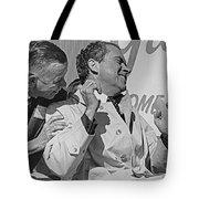 Richard Nixon Laughing Tote Bag
