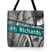 Richards Street Tote Bag