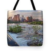 Richmond Evening Skyline I Tote Bag