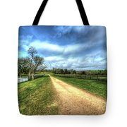 Richmond-lynchburg Stage Road, Appomattox, Virginia Tote Bag