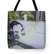 Richmond Mural Project Dface Tote Bag