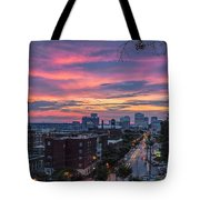 Richmond Sunset Libby Hill Tote Bag