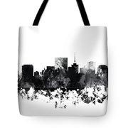 Richmond Virginia Skyline Tote Bag
