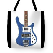 Rickenbacker Bass 4001 Body  Tote Bag