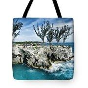Rick's Cafe Negril Jamaica Tote Bag