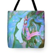 Ride Of Old Blues Tote Bag