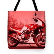 Ride Red Tote Bag