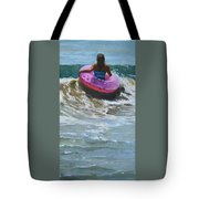 Ride The Wave Tote Bag