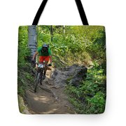 Ride Through The Woods #51 Tote Bag