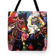 Ride To Glory Tote Bag