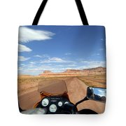 Ride To Little Wild Horse Slot Canyon Tote Bag