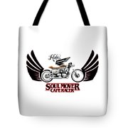 Ride With Passion Cafe Racer Tote Bag