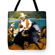 Riders In The Storm Tote Bag