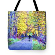 Riders On The Vine Tote Bag