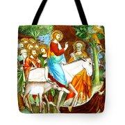 Rides Into Jerusalem Tote Bag