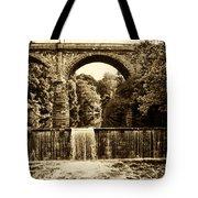 Ridge Avenue Falls Along The Wissahickon Creek Tote Bag