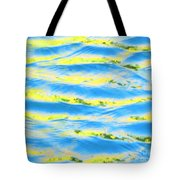 Riding A Wave Tote Bag