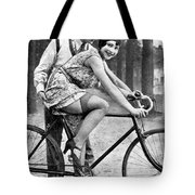 Riding Bike Makes Sexy Tote Bag