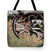 Riding Days Are Over Tote Bag