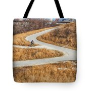 Riding In The City Tote Bag