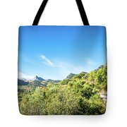 Riding The Roads Of Andalucia Tote Bag