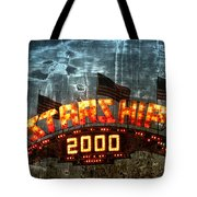 Night Ride On The Starship Tote Bag