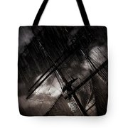 Riding The Storm Tote Bag