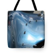 Riding The Surf Tote Bag