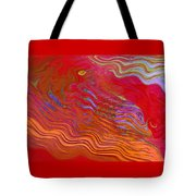 Riding The Vapours Tote Bag